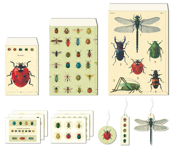 Cavallini Insects Petite Parcel Set