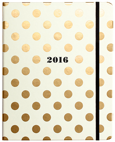 Kate Spade New York Gold Spots Planner