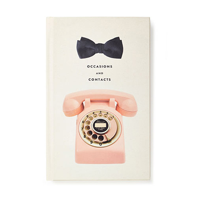 Kate Spade New York Occasions Address Book