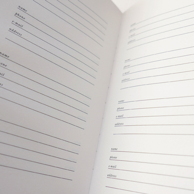 Occasions Address Book