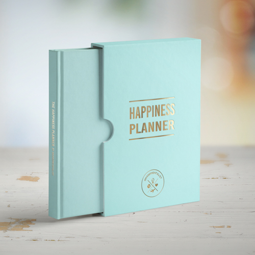 Aqua 100 Day Happiness Planner