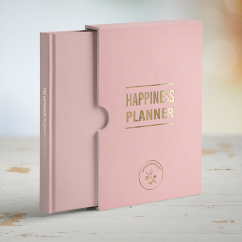 Pink 100 Day Happiness Planner